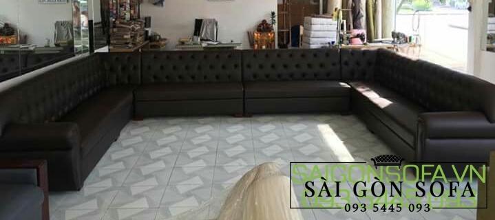 Sofa karaoke đen